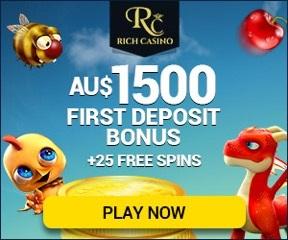 AUS Online Casino - Rich Casino